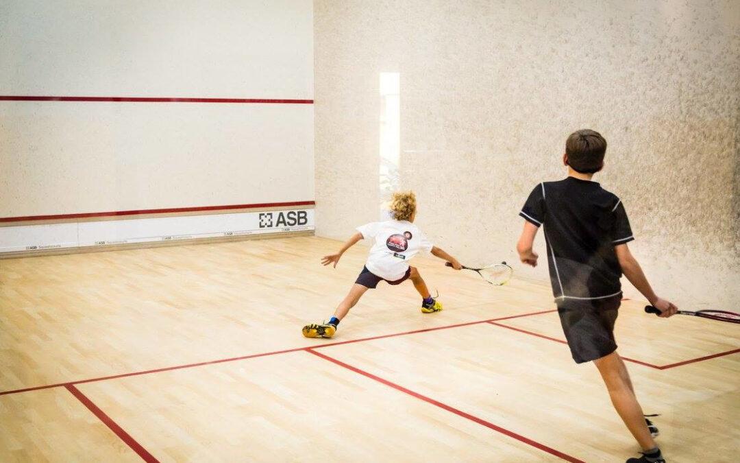 Nabór do szkółki squasha